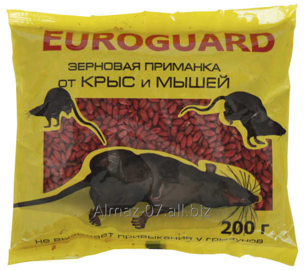 """Euroguard"" от грызунов в гранулах, 200 г"