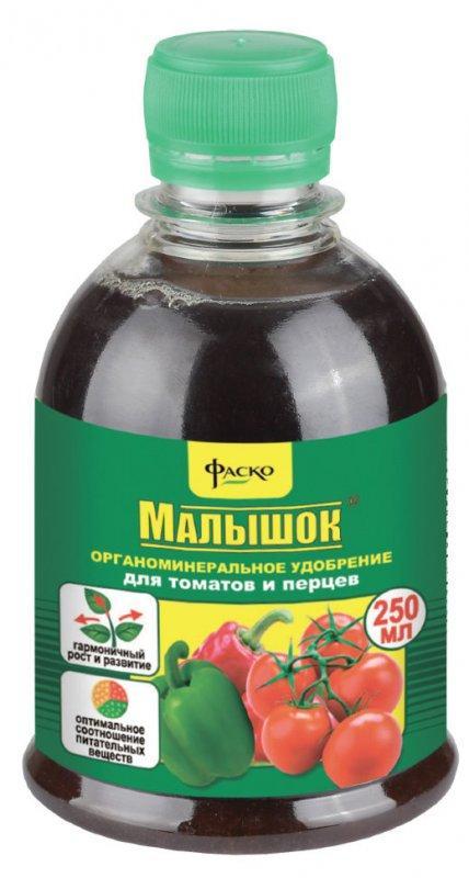 """Удобрение для томатов и перца """"Малышок"""", 250 мл"""