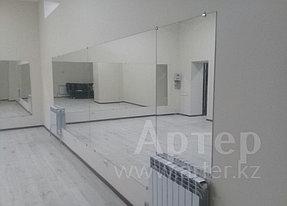 Установка настенных зеркал в танцевальный зал, г. Алматы, апрель 2017 1