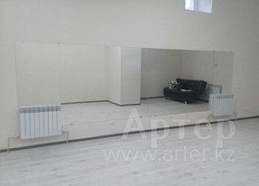 Установка настенных зеркал в танцевальный зал, г. Алматы, апрель 2017 4