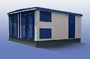 Блочно-модульная трансформаторная подстанция из бетона, фото 2