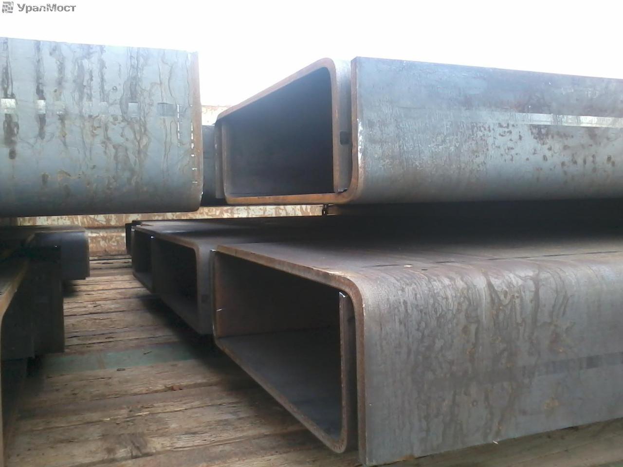 Швеллер гнутый 200х80х5 ст.09Г2С