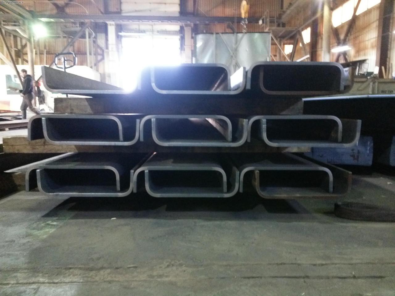 Швеллер гнутый 250х60х4 ст.3