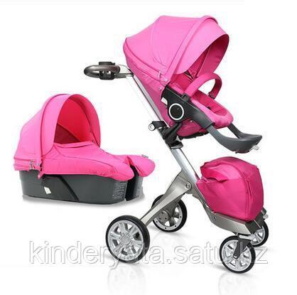Детская коляска 2 в 1 Dsland V6 Rose