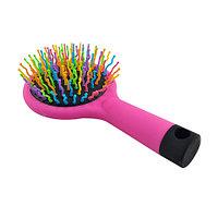 Расческа массажная для придания объема Eyecandy Rainbow Volume Brush [Medium] (Черный)