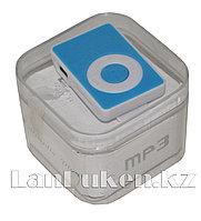 MP3-плеер мини AF-502A на клипсе (голубой)