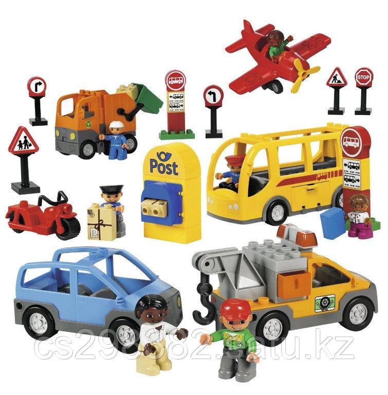 РОБОТОТЕХНИКА Общественный и муниципальный транспорт LEGO
