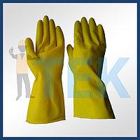 Перчатки хозяйственный латексный