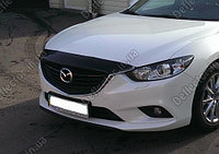 Мухобойка/дефлектор капота на Mazda 6/Мазда 6 2013-, фото 1
