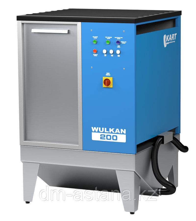 Автоматическая мойка колес гранулами Wulkan 200 (без функции нагрева воды)