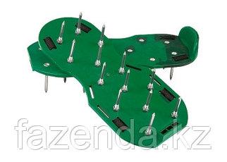 Аэратор ножной для газона, сандалии