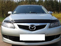 Мухобойка/дефлектор капота на Mazda 6/Mазда 2002-2007, фото 1