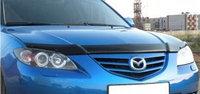 Мухобойка/дефлектор капота на Mazda 3/Мазда 3 2003-2009, фото 1