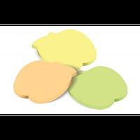 Клейкие листки ЯБЛОКО, 40 лиcтов, желтые