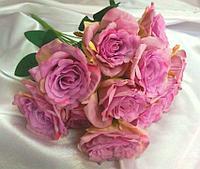 """Букет роз """"Виола"""" искусственный"""