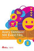 Цветные виниловые пленки для аппликации - AVERY, серия 500 Event Film