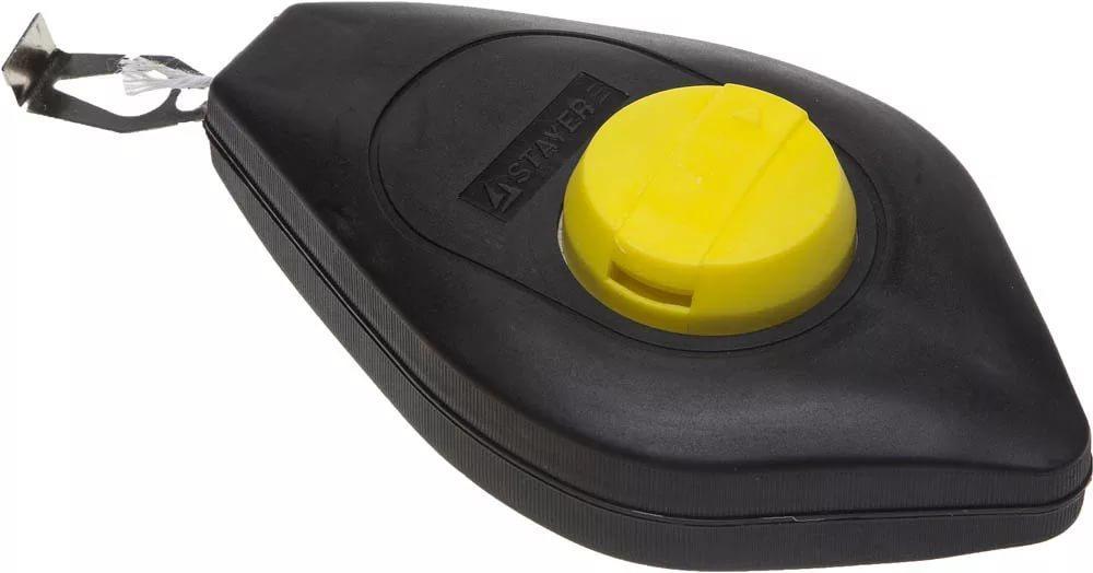 (0638) Шнур-отвес STAYER разметочный, корпус пластмассовый, 30м