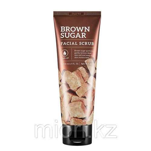 Скраб для лица с экстрактом коричневого сахара Brown Sugar Facial Scrub