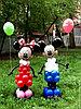 Фигура из шаров Микки Маус в Павлодаре