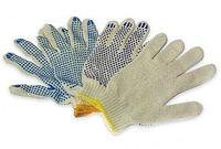 Перчатки х/б, бежевые