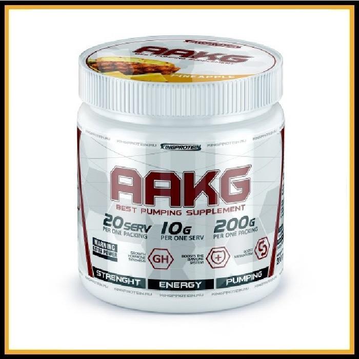 King Protein AAKG (L-аргинин), 200гр, фруктовый пунш