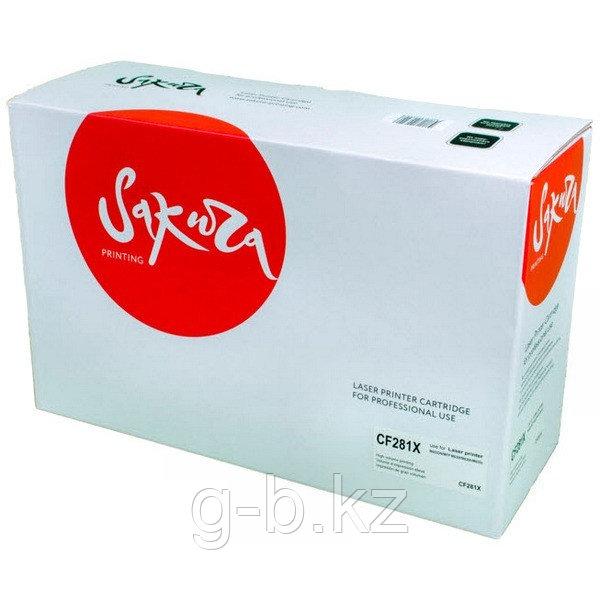 Картридж SAKURA CF281X для HP Laserjet M630Z/630dn/630f/630h, черный 25000 к.