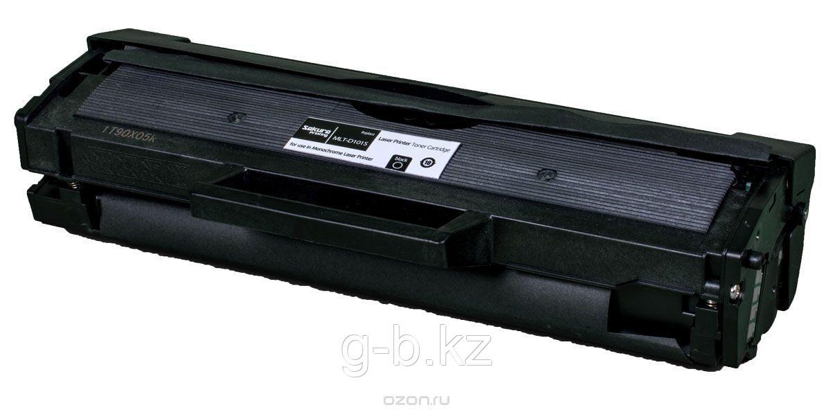 Картридж SAKURA MLTD101S для Samsung ML-2160/65/67/68/SCX-3400/05/07, черный, 1500 к.