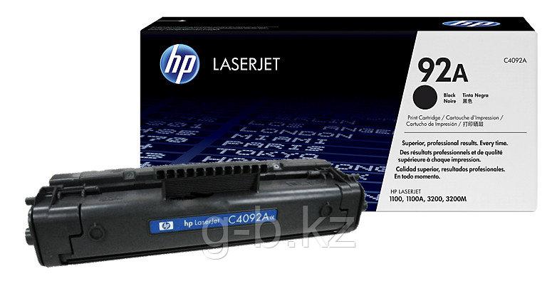 Картридж HP/C4092A/Laser/black