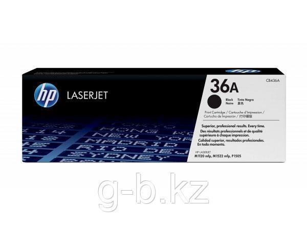 Картридж HP Europe/CB436A/Laser/black