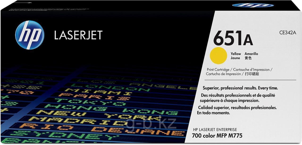 Cartridge HP/CE342A/Laser/yellow