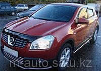 Мухобойка\дефлектор капота на Nissan Qashqai Ниссан Кашкай 2007-2009, фото 1