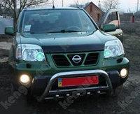 Мухобойка\дефлектор капота на Nissan X-TRAIL 2001-2006