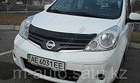 Мухобойка\дефлектор капота на Nissan Note/Ниссан Нот 2005-2009