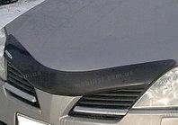 Мухобойка\дефлектор капота на Nissan Primera/Ниссан Примера P12 2002-2008, фото 1