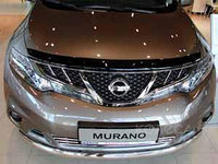 Мухобойка\дефлектор капота на Nissan Murano/Ниссан Мурано 2009-