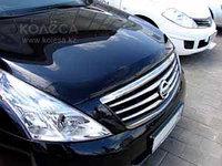 Мухобойка\дефлектор капота на Nissan Teana /Ниссан Теана 2008-2013, фото 1