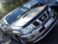 Мухобойка\дефлектор капота на Nissan Patrol/Ниссан Патрол 2004-2009, фото 1