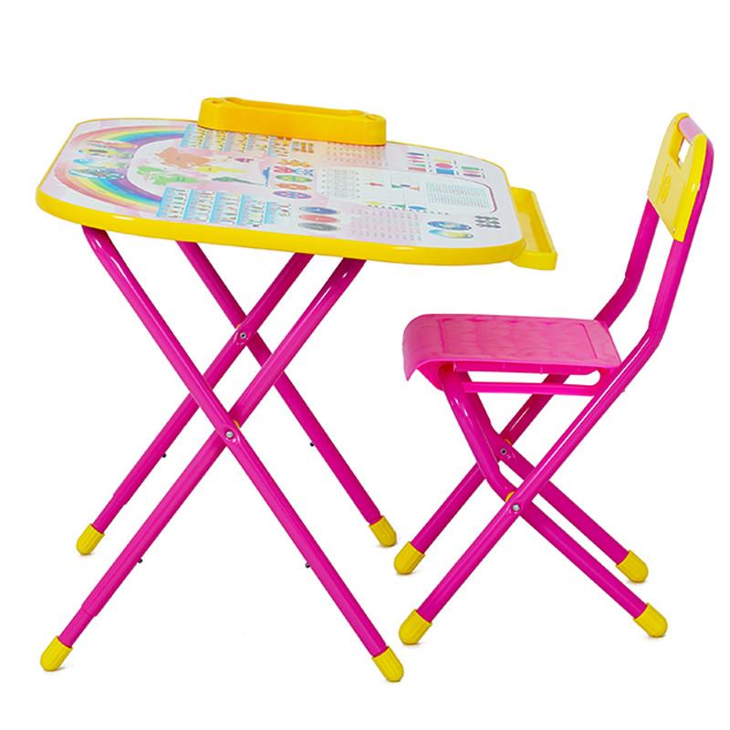 """Набор трансформируемой мебели № у2р/1 Дошколёнок - """"Блокнот"""" розовый"""