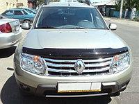 Мухобойка (дефлектор капота) на Renault Duster /Рено дастер 2011-