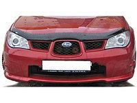 Мухобойка/ Дефлектор капота на Subaru Impreza /Субару Импреза 2008-2011, фото 1