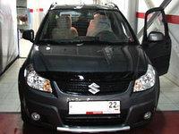 Мухобойка/дефлектор капота  на Suzuki SX4 2007-