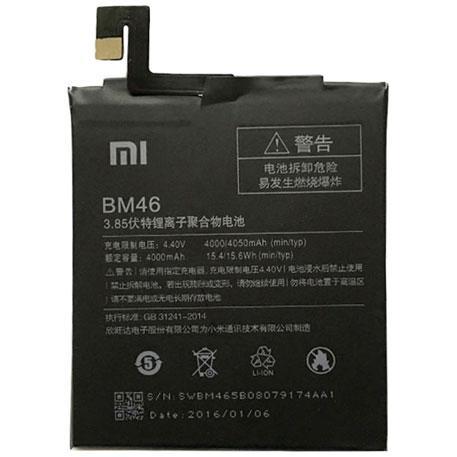 Заводской аккумулятор для Xiaomi Redmi Note 3/Note 3 Pro (BM46, 4000 mah)