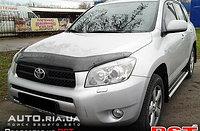 Мухобойка (дефлектор капота) Toyota RAV-4/Тойота РАФ4 2006-2009, фото 1