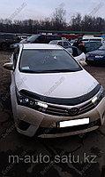 Мухобойка (дефлектор капота) Toyota Corolla/Тойота Королла 2013--