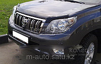 Мухобойка (дефлектор капота) Toyota Land Cruiser Prado/Тойота Прадо 150, фото 1