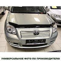 Мухобойка (дефлектор капота) наToyota Avensis /Тойота Авенсис 03-08