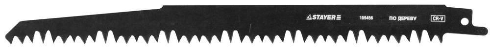 """(159456) Полотно STAYER """"PROFI"""" S1531L к саб эл.ножов Cr-V,спец закал зубья,быстр грубый рез,тв. и мягк. древ"""