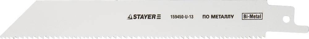 """(159459-13) Полотно STAYER """"PROFI"""" S922EF для сабельной эл. ножовки Bi-Met,тонколистовой, профильный металл"""