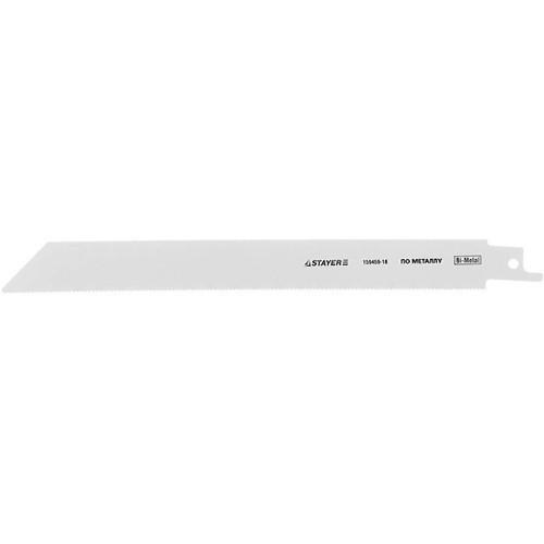 """(159459-18) Полотно STAYER """"PROFI"""" S1122EF для сабельной эл. ножовки Bi-Met, тонколистовой, профильн металл"""