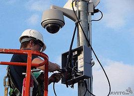 Монтаж, установка систем видеонаблюдения